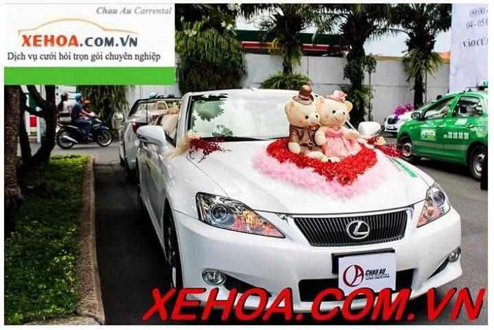 Thuê xe hoa Lexus IS250